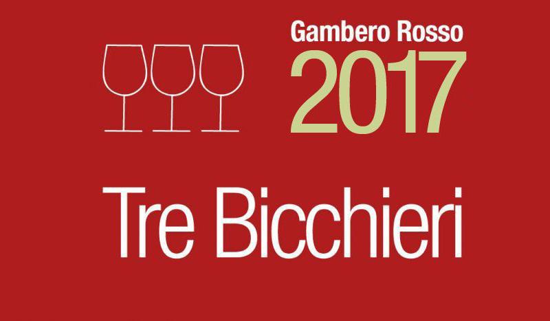Tre bicchieri Gambero Rosso ai vini Negro Angelo e Figli